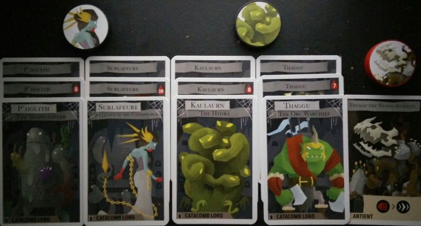 Catacombs: Cavern of Soloth cards