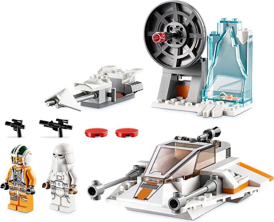 Snowspeeder™ components