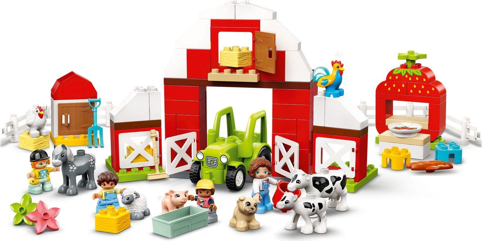 LEGO® DUPLO® Barn, Tractor & Farm Animal Care gameplay