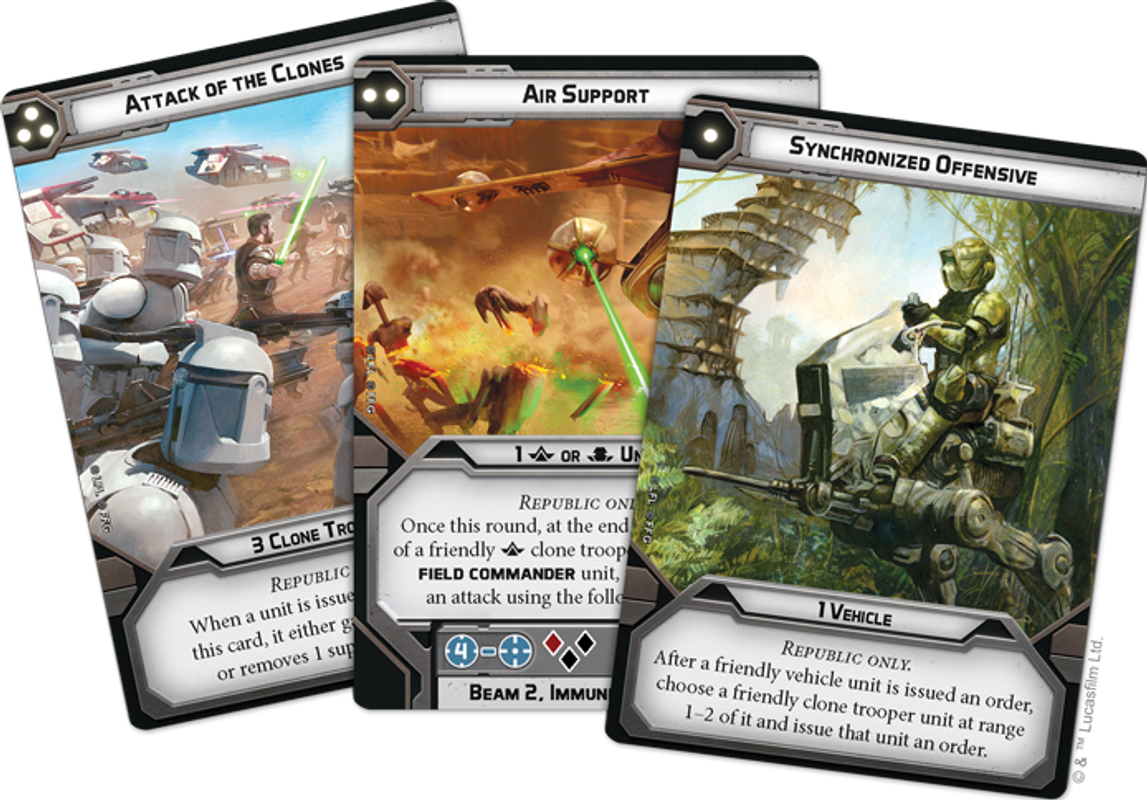 Star Wars: Legion – Republic Specialists Personnel Expansions carte