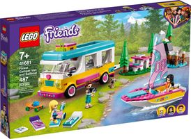LEGO® Friends Forest Camper Van and Sailboat