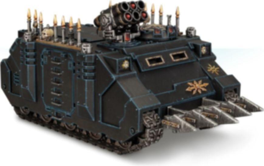 Warhammer 40.000 Chaos Space Marines Rhino miniature