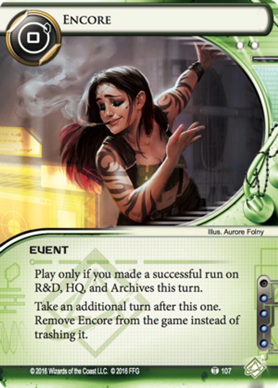 Android: Netrunner - Quorum Encore card