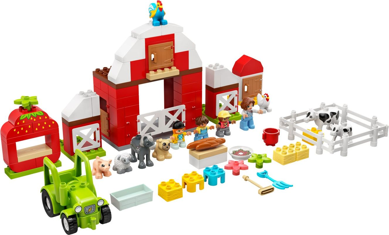 Barn, Tractor & Farm Animal Care components