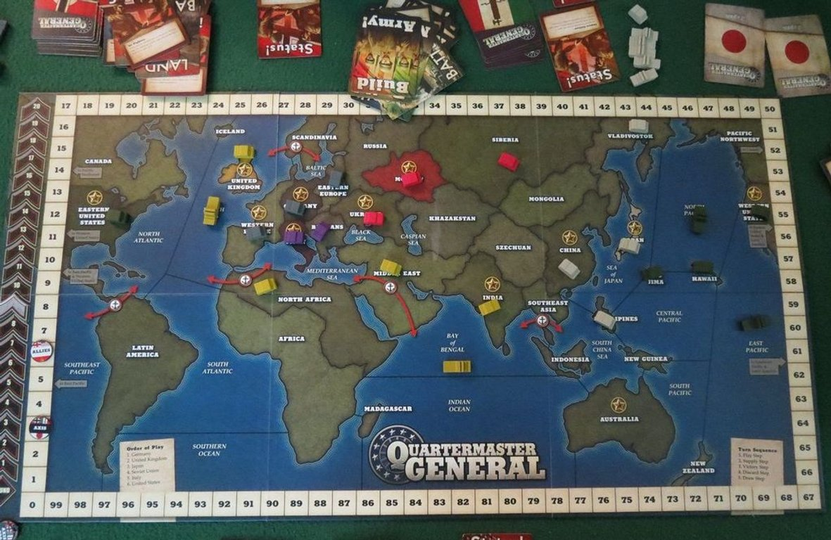 Quartermaster General components