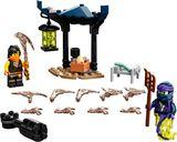 LEGO® Ninjago Epic Battle Set - Cole vs. Ghost Warrior components