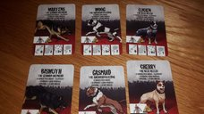 Zombicide Box of Dogs Set #6: Dog Companions cards