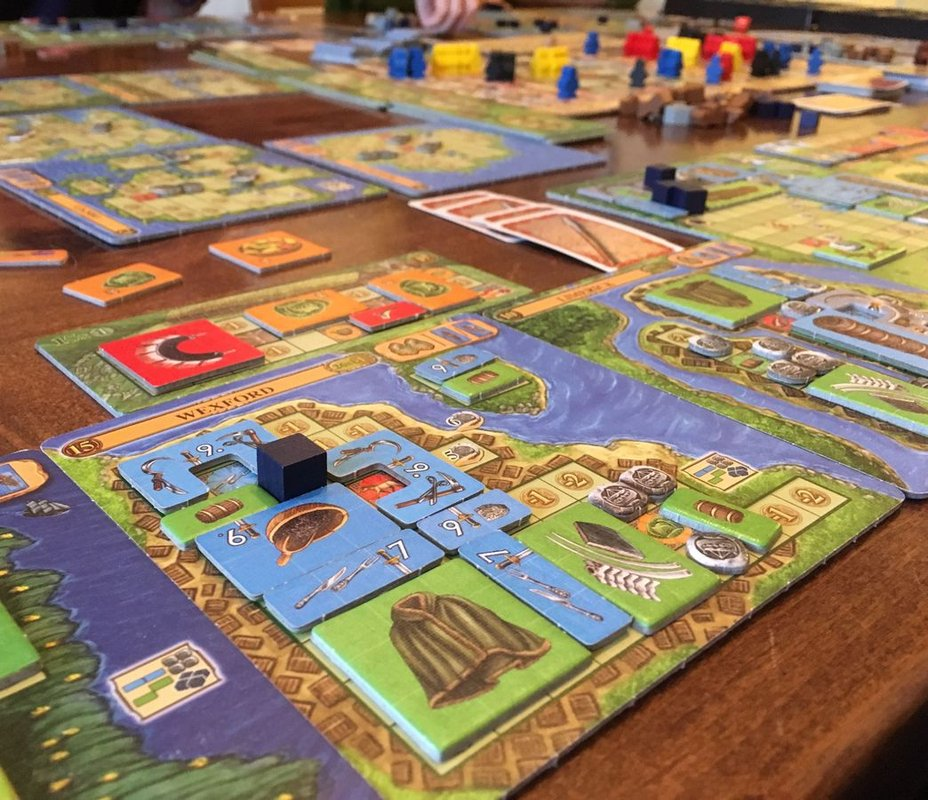 A Feast for Odin: The Norwegians gameplay