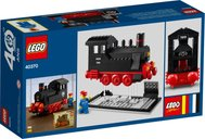 Iconic Steam Engine (40 Years of LEGO Trains) back of the box