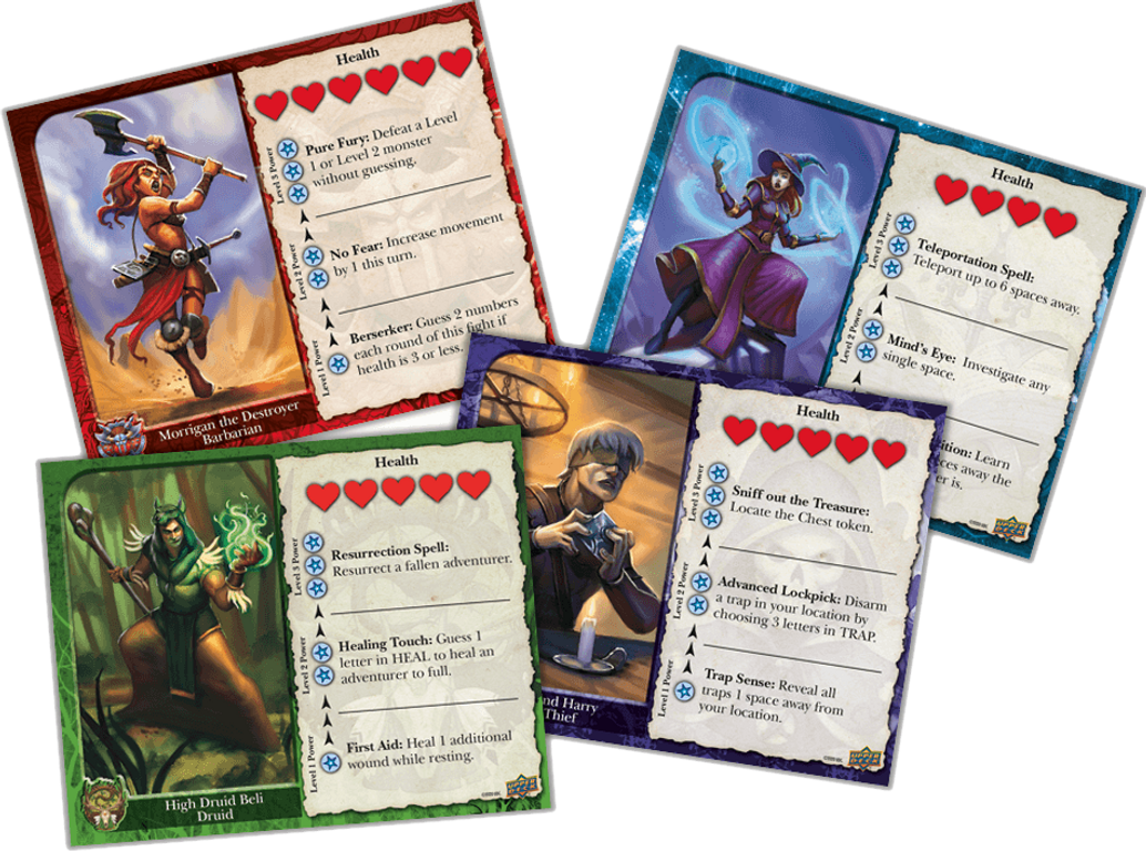 Keepers of the Questar cards