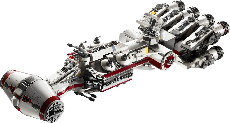 LEGO® Star Wars Tantive IV™ components