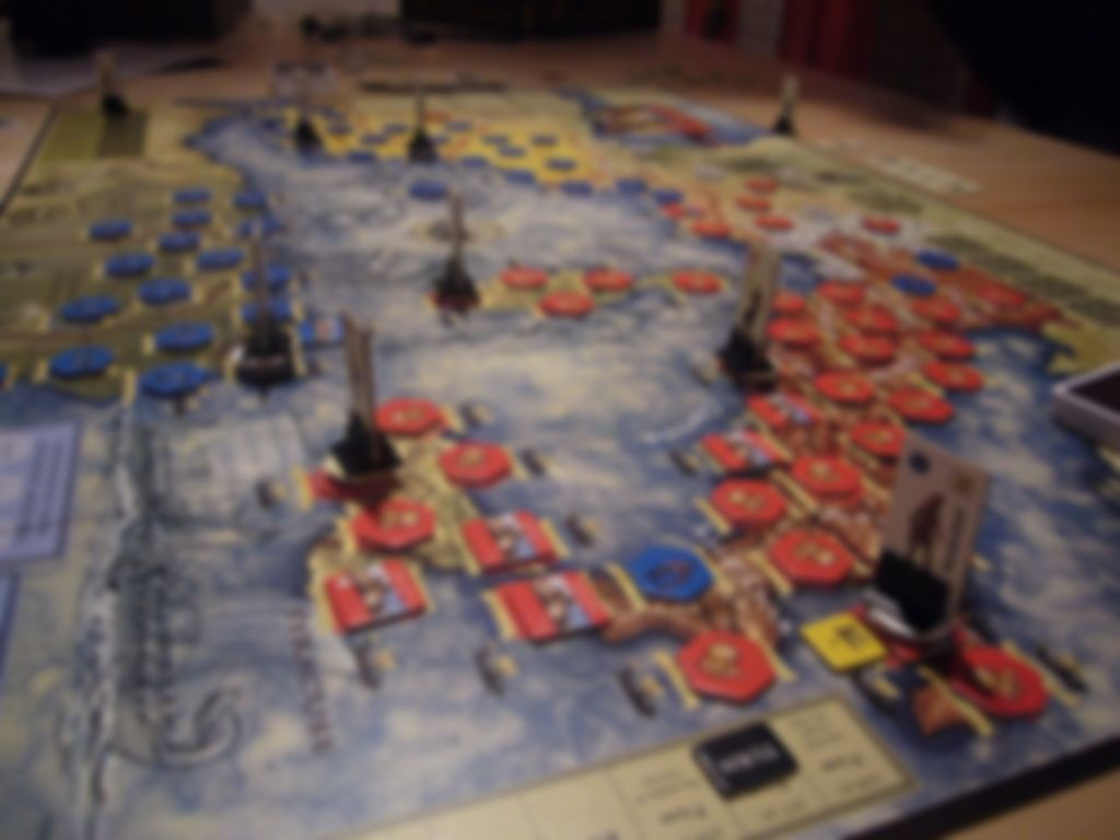Hannibal: Rome vs. Carthage gameplay