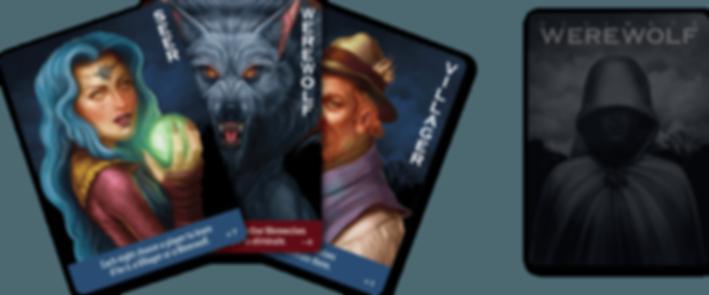 Ultimate Werewolf cards