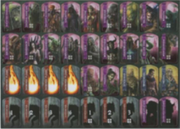 Folklore: The Affliction – Dark Tales Expansion cards