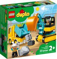 LEGO® DUPLO® Truck & Tracked Excavator