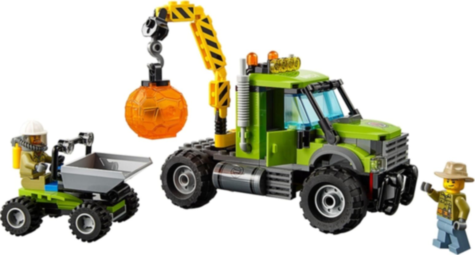 LEGO® City Volcano Exploration Base gameplay