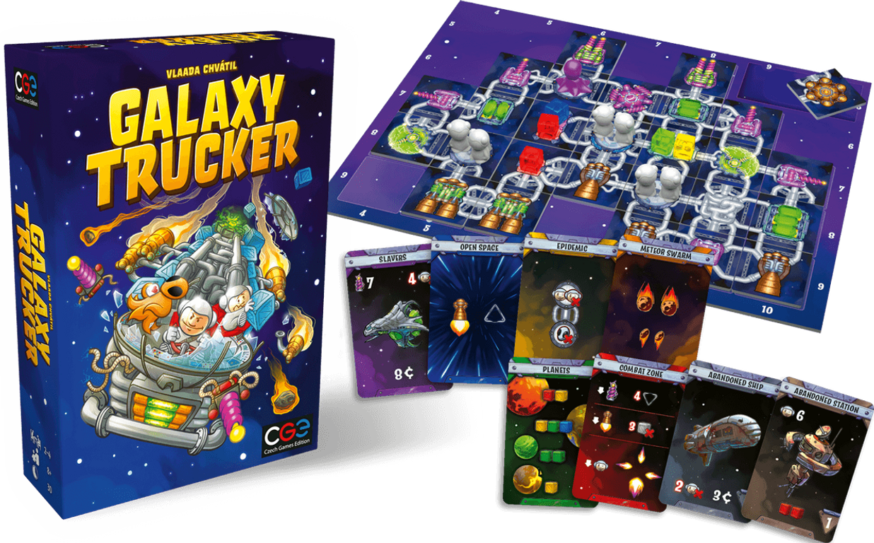 Galaxy Trucker (Remastered Edition) components