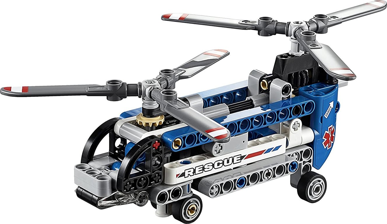 LEGO® Technic Twin-Rotor Helicopter components