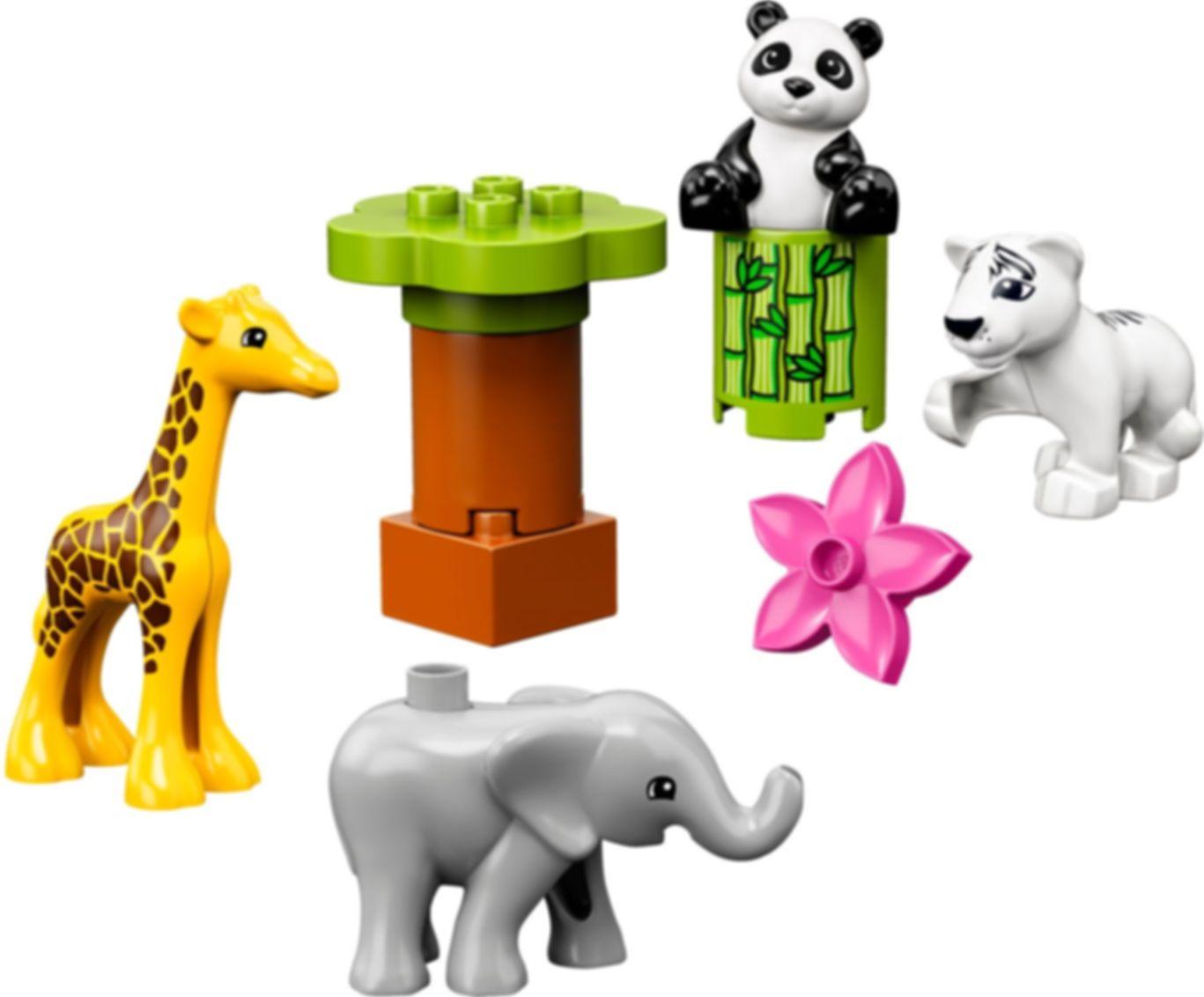 LEGO® DUPLO® Baby Animals components