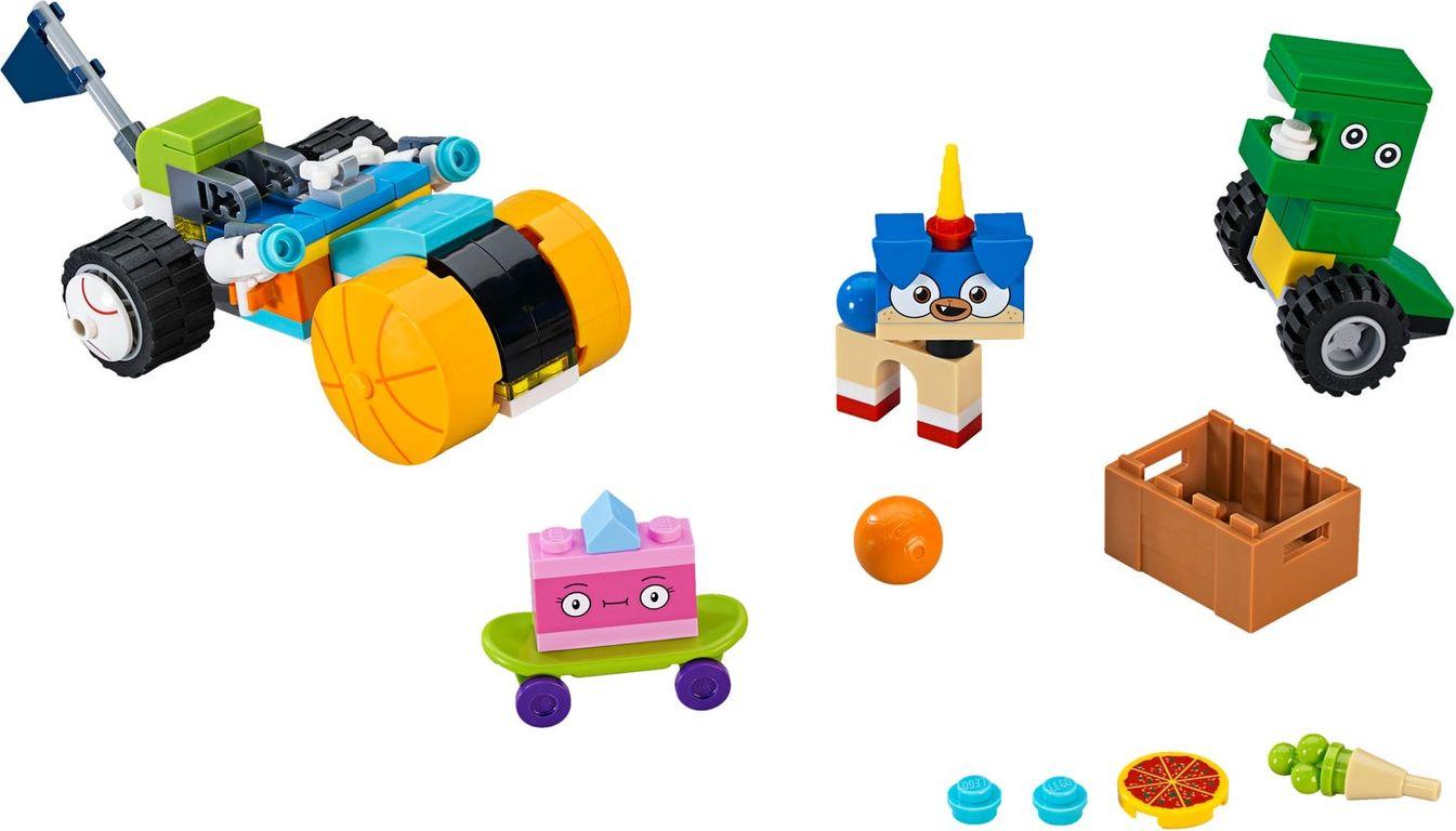 LEGO® Unikitty! Prince Puppycorn Trike components
