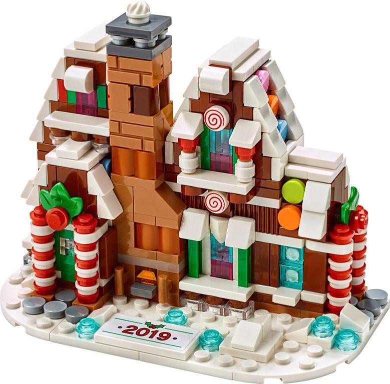 LEGO® Creator Expert Mini Gingerbread House components