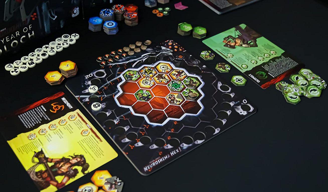 Neuroshima Hex: Year of Moloch gameplay