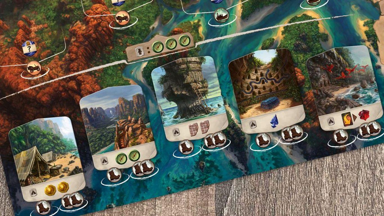 Lost Ruins of Arnak cards