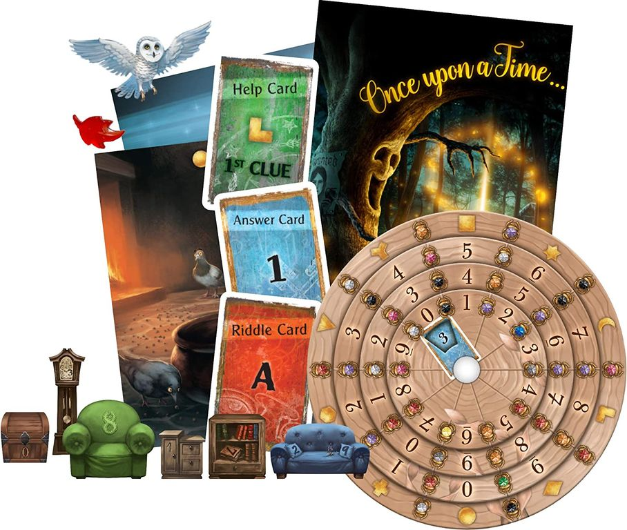Exit: The Game – The Enchanted Forest components