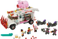 LEGO® Monkie Kid Pigsy's Food Truck components