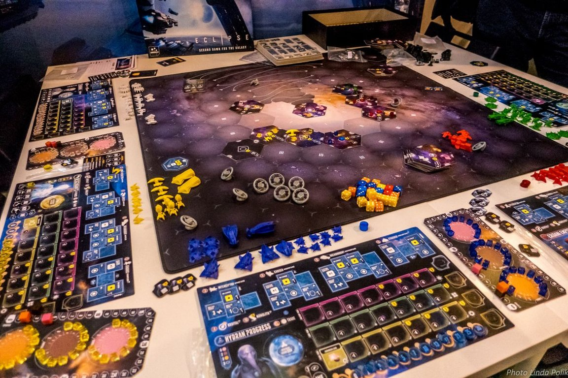 Eclipse: Second Dawn for the Galaxy components