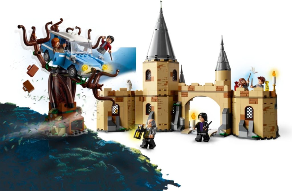 LEGO® Harry Potter Hogwarts™ Whomping Willow™ gameplay