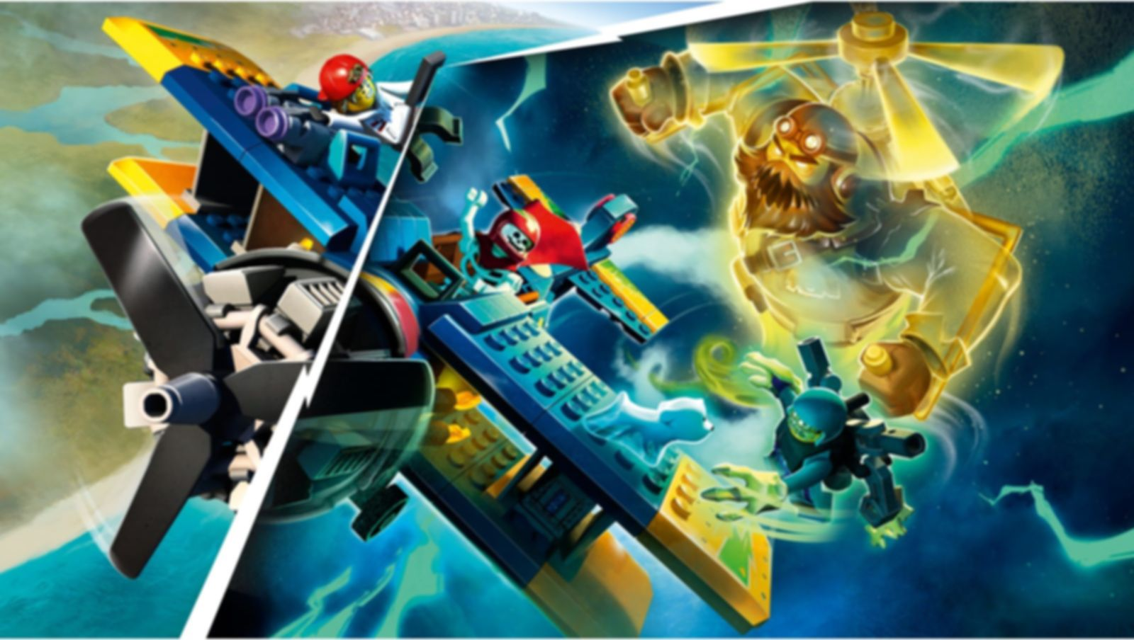 El Fuego's Stunt Plane gameplay