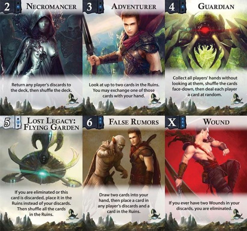 Lost Legacy: Flying Garden cards