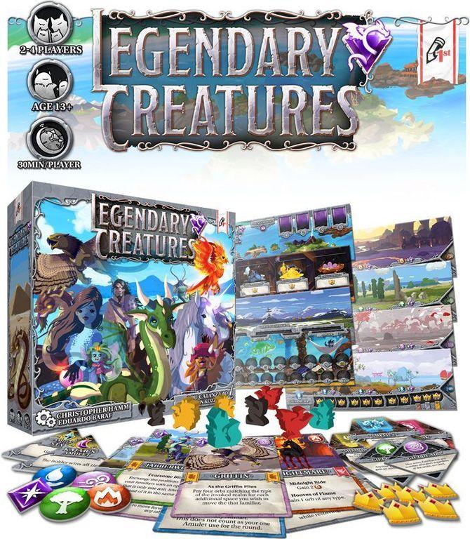 Legendary Creatures components