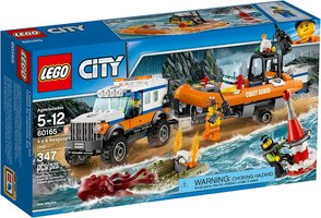 LEGO® City 4 x 4 Response Unit