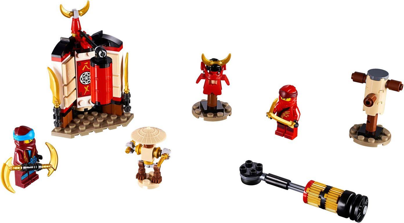 LEGO® Ninjago Monastery Training components