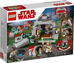 LEGO® Star Wars Ahch-To Island™ Training back of the box