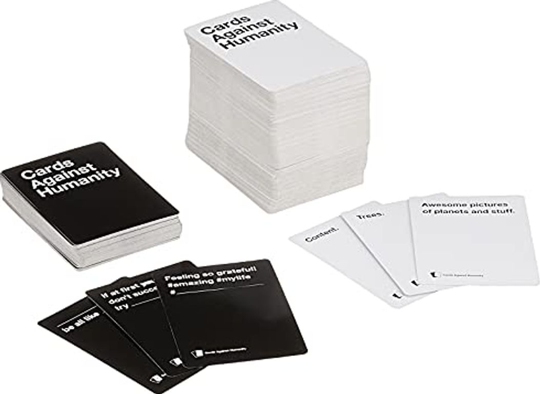 Cards Against Humanity: Green Box components