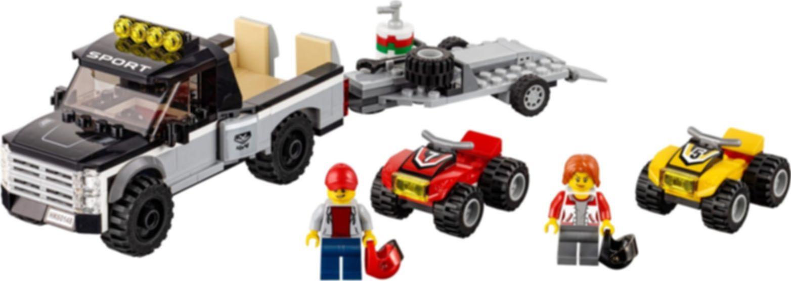LEGO® City ATV Race Team components