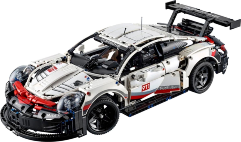 Porsche 911 RSR components