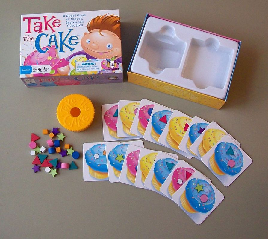 Take the Cake components