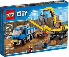 LEGO® City Excavator and Truck