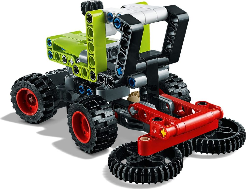 LEGO® Technic Mini CLAAS XERION components
