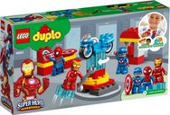LEGO® DUPLO® Super Heroes Lab back of the box