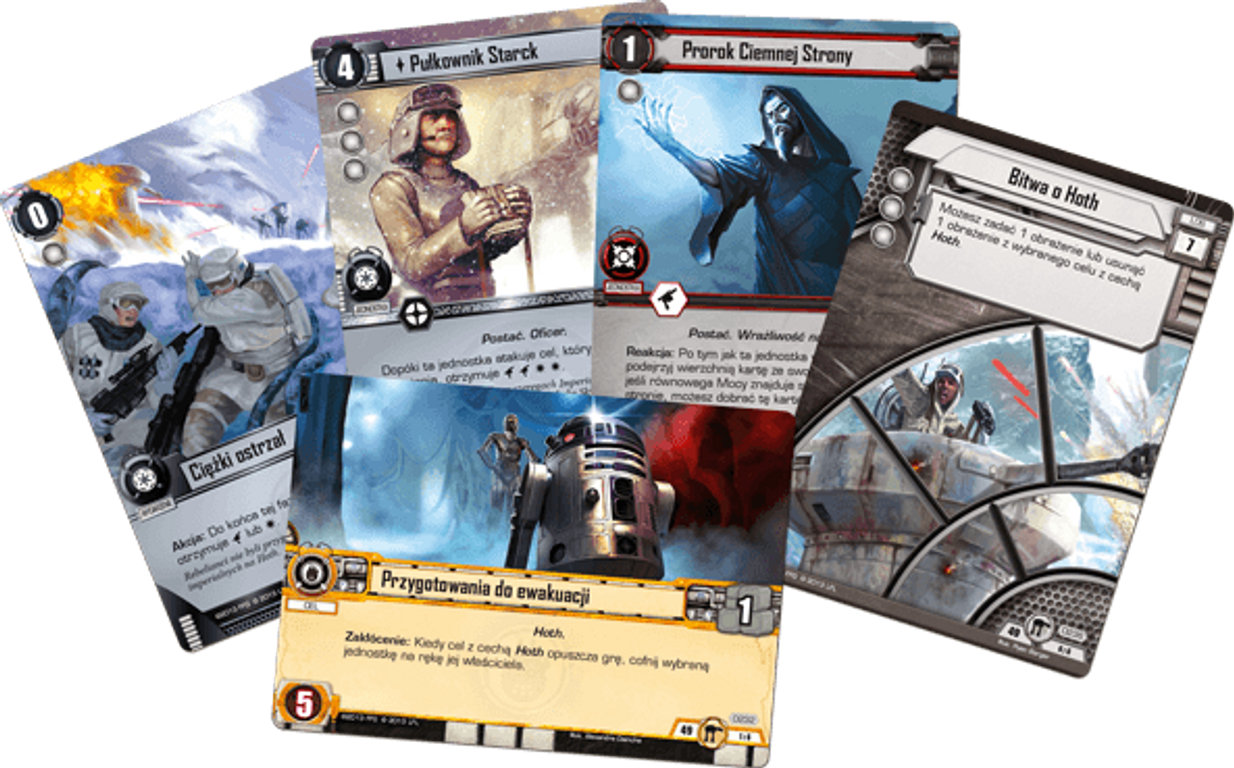 Star Wars: The Card Game - A Dark Time cards