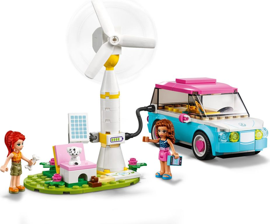 LEGO® Friends Olivia's Electric Car gameplay