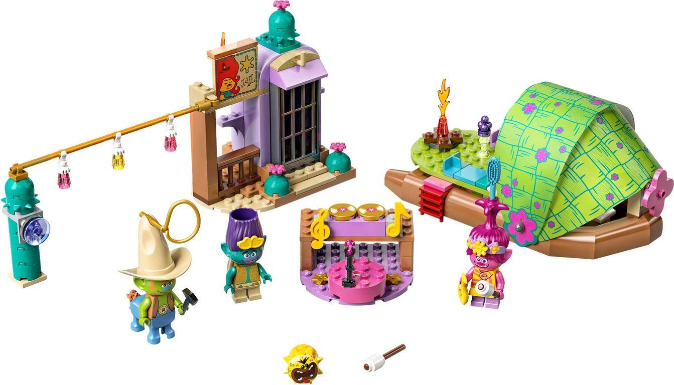 LEGO® Trolls Lonesome Flats Raft Adventure components