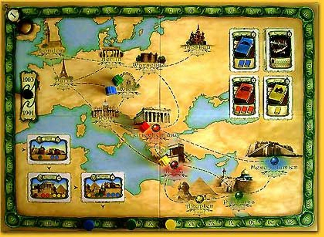 Thebes game board