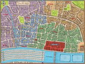The Great Fire of London 1666 game board