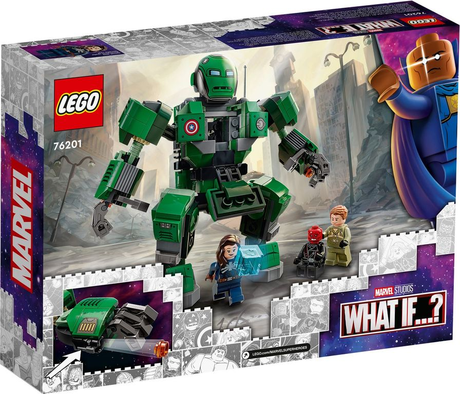 LEGO® Marvel Captain Carter & The Hydra Stomper back of the box